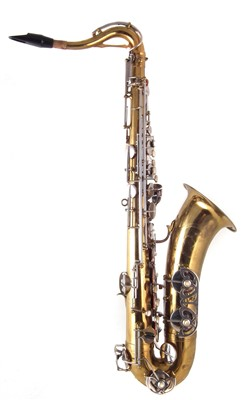 Lot 24-Buffet Crampon 1956 / 57  Dynaction saxophone with case