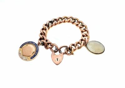 Lot 54-A charm bracelet