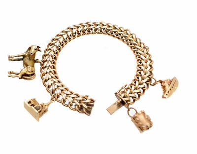 Lot 55-A 1960s 9ct gold bracelet by Smith & Pepper Ltd.