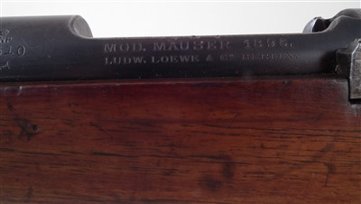 Lot 47 - Mauser 7x57 bolt action rifle serial number 2510