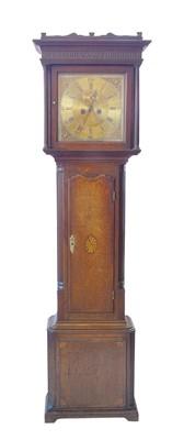 Lot 389 - Late 18th century long-case clock.