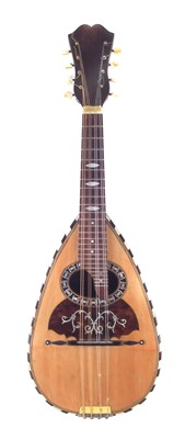 Lot 19-Bowl back mandolin in case.