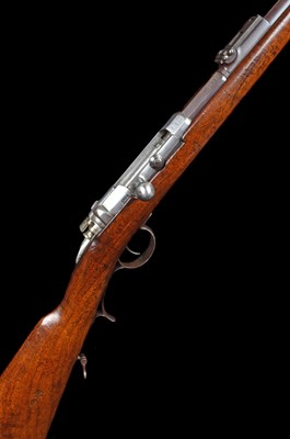 Lot 2-Mauser 71 Jaeger bolt action rifle