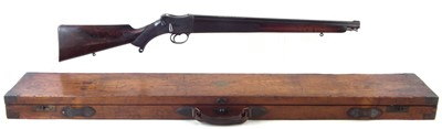 Lot 15-Alex Henry .577/450 carbine with a case