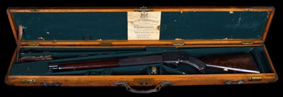 Lot 15 - Alex Henry .577/450 carbine with a case