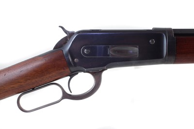 Lot 12 - Winchester 1886 40-82 take down lever action rifle serial number 134416