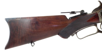 Lot 11 - Winchester 1876 45/75 lever action rifle