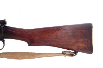 Lot 25-BSA Lee Enfield SMLE .303 bolt action rifle serial number W9509