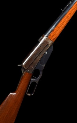Lot 13-Winchester 1895 .405 lever action rifle serial number 82229