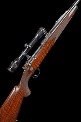 Lot 24-Cased Westley Richards .270 Winchester bolt action rifle