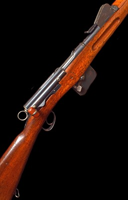 Lot 3-Schmidt Rubin straight pull rifle serial number 85338