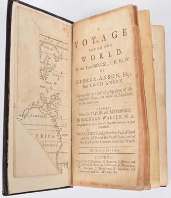 Lot 46-Walter, R., A Voyage Round the World, by George Anson.