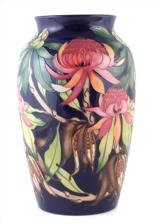 258 - Large Moorcroft trial vase