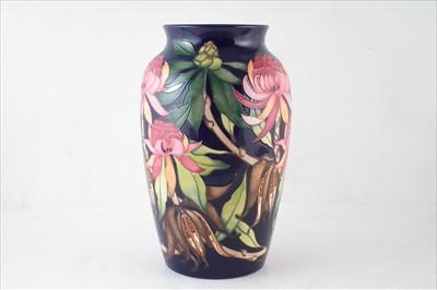 Lot 258 - Large Moorcroft trial vase
