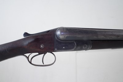 Lot 121-Greener side by side shotgun 12 bore 44892