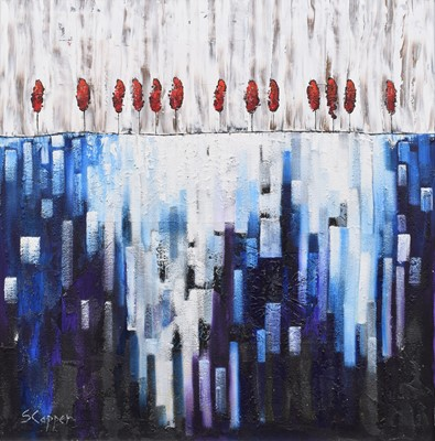 "Lot 3 - Steve Capper, ""Northern Water"", oil."
