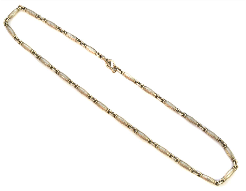 Lot 57-A Georg Jensen silver necklace
