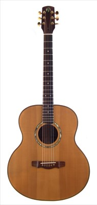 Lot 4-Northworthy Ellastone acoustic guitar