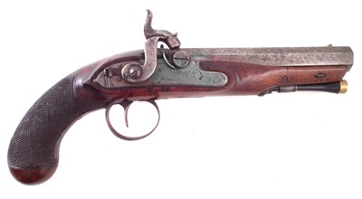Lot -Henry Nock percussion pistol