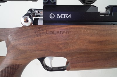 Lot 164 - Daystate MK4 air rifle with Hawke Scope and case