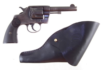 Lot 38-.41 Long Colt Army Special revolver serial number 94780, with holster