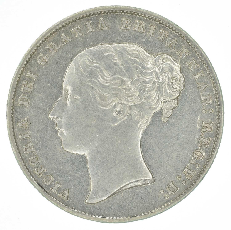 Lot 48-Queen Victoria, Shilling, 1844, gEF.