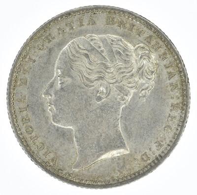 Lot 52-Queen Victoria, Shilling, 1885, gEF.
