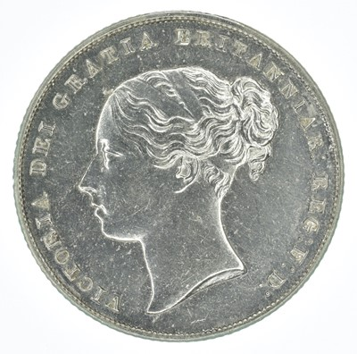 Lot 54-Queen Victoria, Shilling, 1857, gEF.