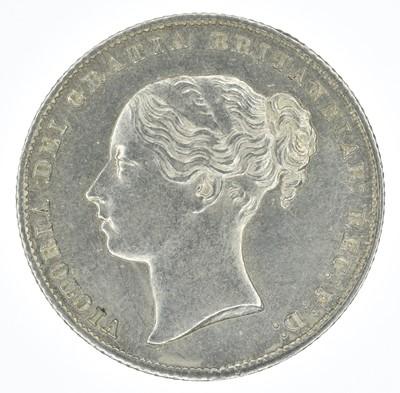 Lot 55-Queen Victoria, Shilling, 1859, gEF.