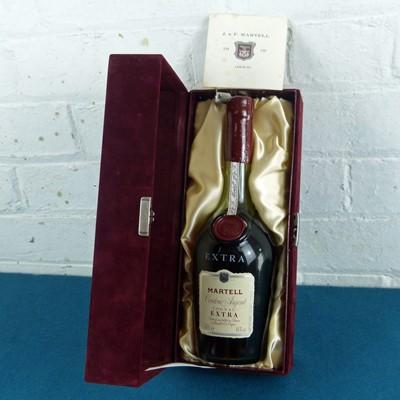 """Lot 44 - 1 Bottle Cognac Martell """"Extra"""" 'Cordon Argent' 1980's release"""