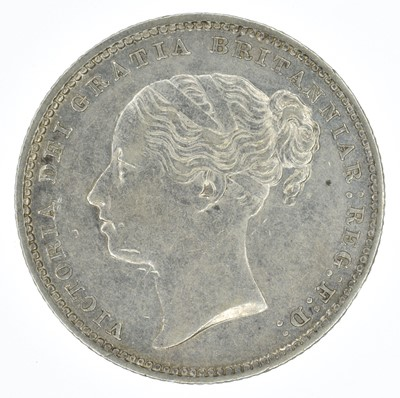 Lot 56-Queen Victoria, Shillings, 1885 and 1875 (2).