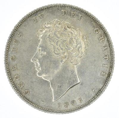Lot 57-King George IV, Shilling, 1826, gEF.