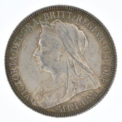 Lot 59-Queen Victoria, Shillings, 1897(2) and 1898 (3).