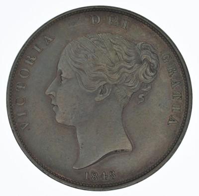 Lot 60-Queen Victoria, Penny, 1848, gEF.