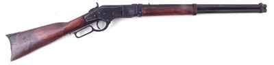 Lot 46-Denix replica Winchester rifle