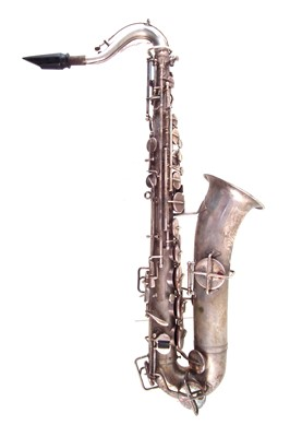 Lot 35-Buescher saxophone in case