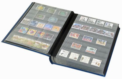 Lot 70-GB Collection in Lindner stockbook from 1992-2010, fairy comprehensive with much decimal mint.