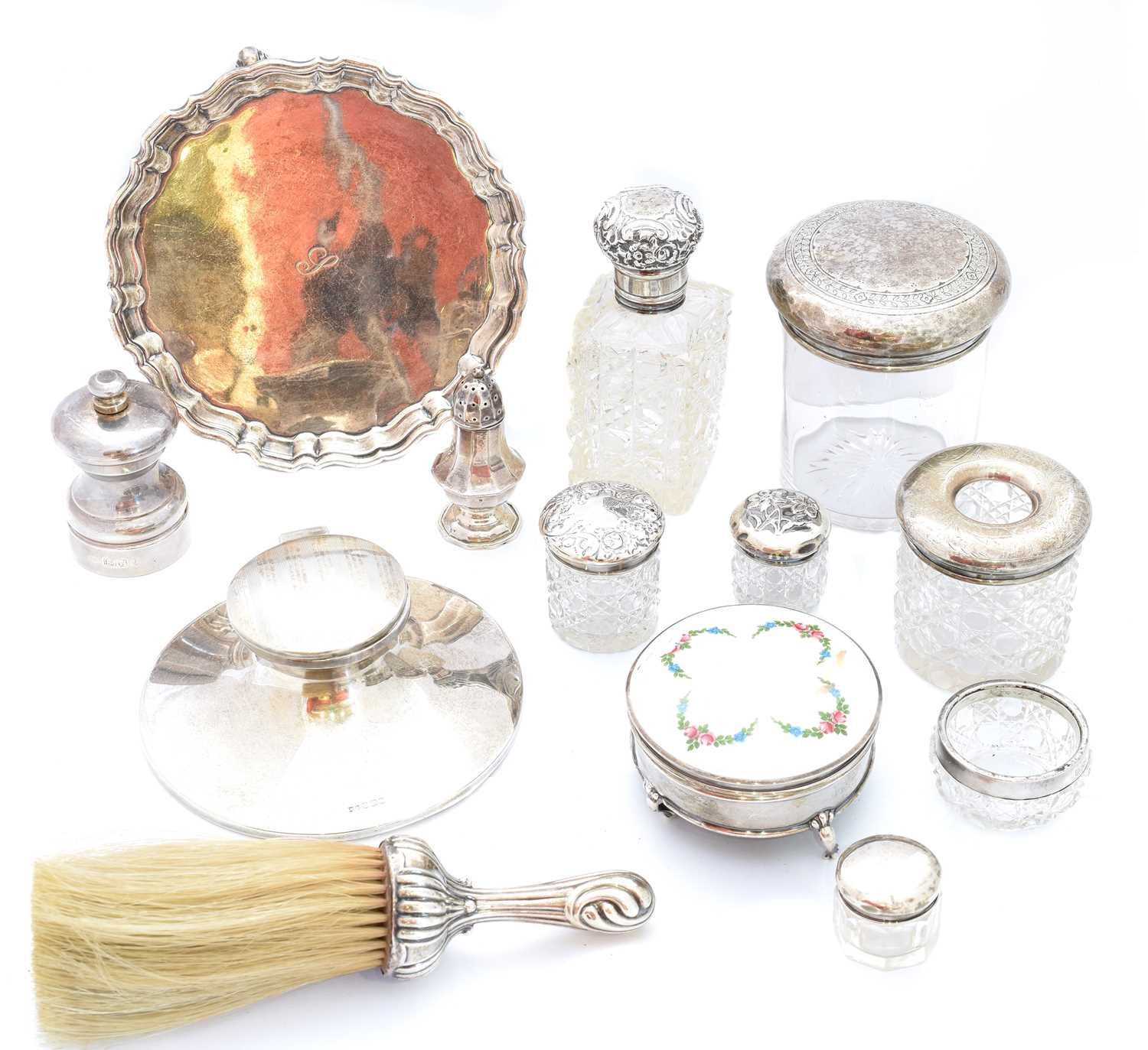 Lot 33-A large selection of silver