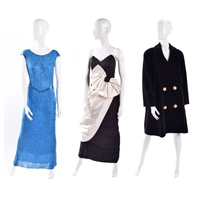 Lot 13-Three designer dresses