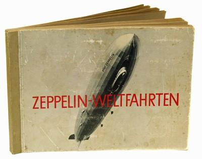 Lot 22-Zepplin- Weltfahrten 264 card German album