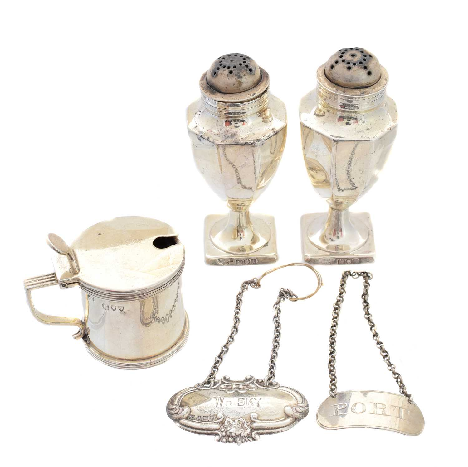 Lot 38-A selection of silver