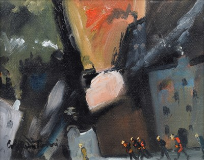 """Lot 83 - William  Turner, """"Off to the Mine"""", oil."""