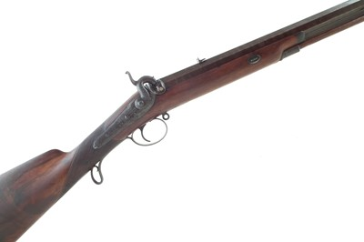 Lot -Percussion sporting rifle by Rots.