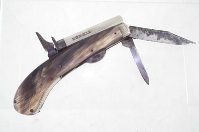 Lot -Unwin & Rodgers penknife rimfire pistol