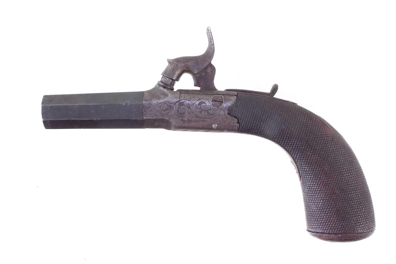 Lot -E.W. Bond percussion muff pistol