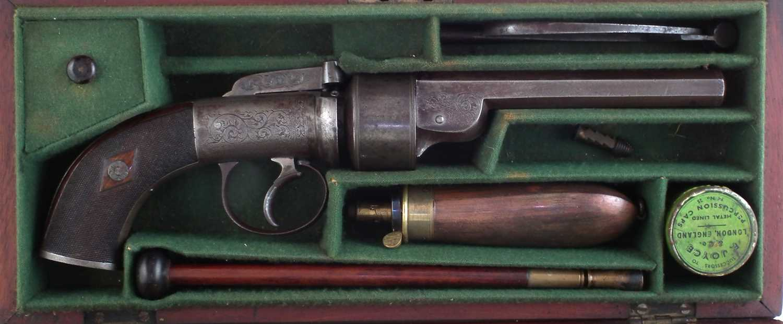 Lot -S. Nock transitional revolver