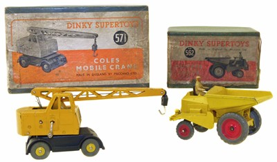 Lot 116 - Two Dinky Supertoys
