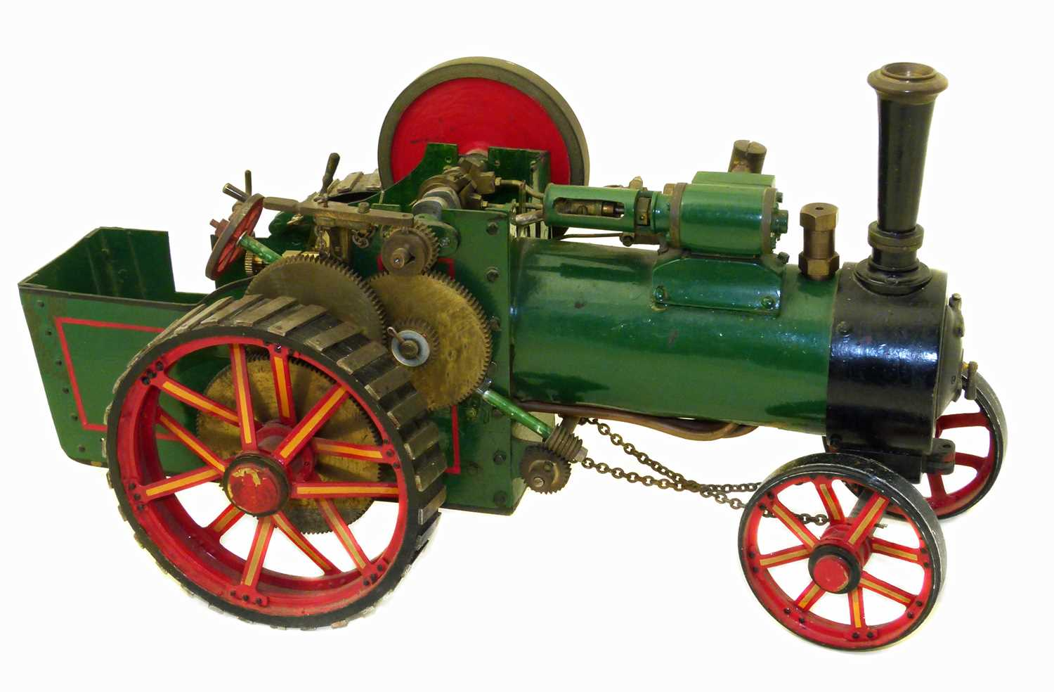 Lot 7-Bassett Lowke Ltd traction engine.