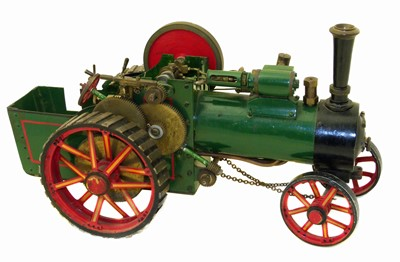 Lot 17-Bassett Lowke Ltd traction engine.