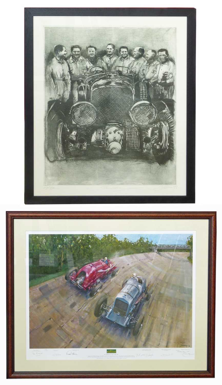 Lot 1-Two limited edition prints.